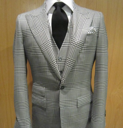 Three Piece Bespoke Suit Men S Hiploose Custom Clothing