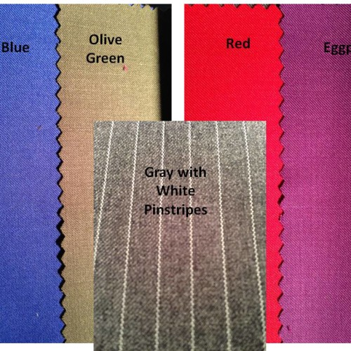 Contemporary Color Swatches