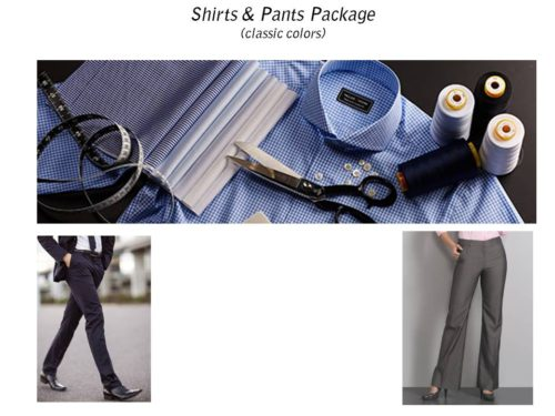 Pants and Shirt Package