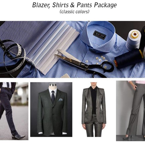 Suit and Shirt Package Feature